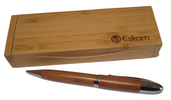 Engraved Bamboo Pen