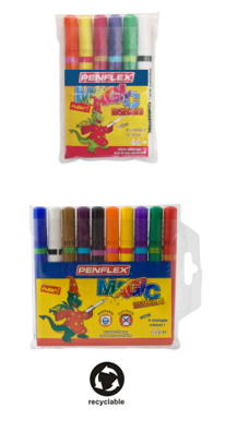 Childrens pens colouring markers