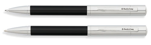 Franklin Covey Greenwich Black Lacquer Pen and Pencil Set