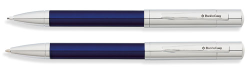Franklin Covey Greenwich - Blue Lacquer Pen and Pencil Set FC0021IM-3