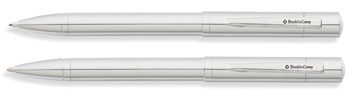 Franklin Covey Greenwich Chrome Pen and Pencil Set