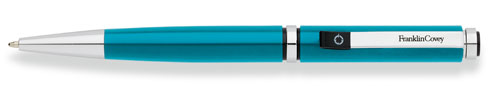 Franklin Covey Portland Teal Lacquer Ballpoint Pen FC0102-3