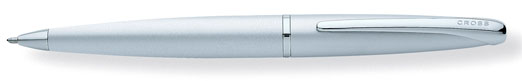 Cross ATX Matte Chrome Ballpoint Pen Logo Pens
