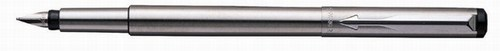Stainless Steel Vector Parker Fountain Pen