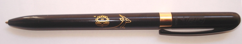 Branded Promotional Pen for SA Rugby