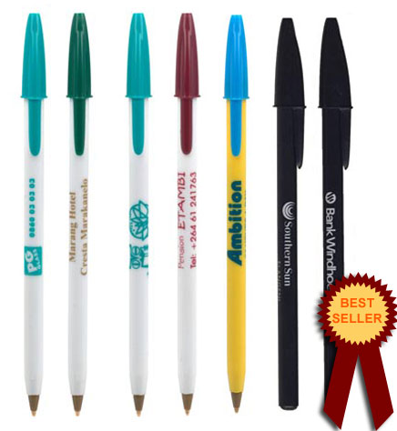 Bic stic round best promotional pen