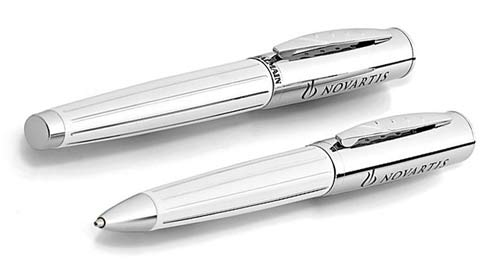 Balmain Narbonne white Pen Set personalized pens