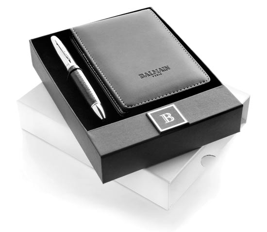 Balmain Appellate Pen and Notebook