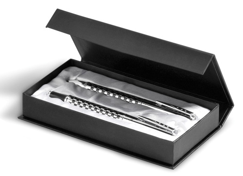 Balmain Chequer Corporate Gift Pen gift box