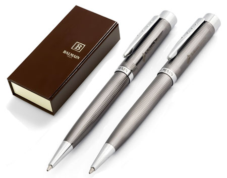 Balmain Pen and Pencil Set