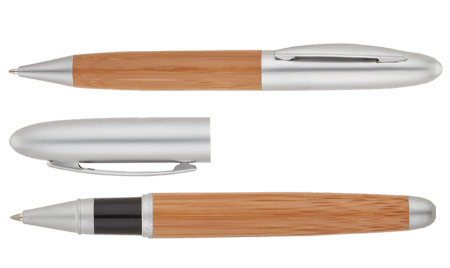Bamboo and Brass eco friendly pens