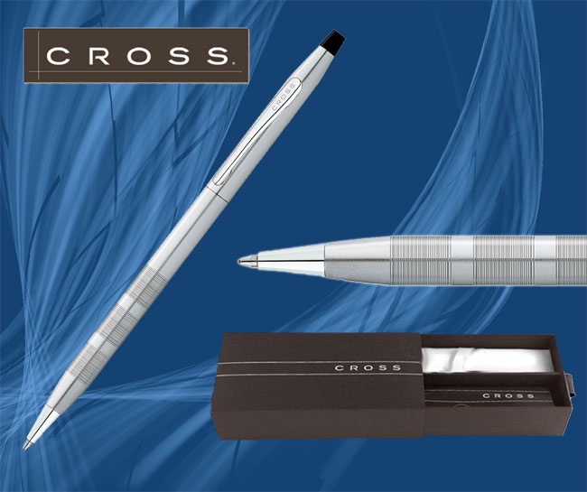 Cross Century Classic Satin Chrome Corporate Gift Pen