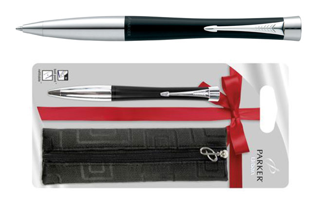 Parker Urban Fashion Black Pen Gift Set
