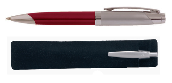 Red Solis Pen Corporate Gift